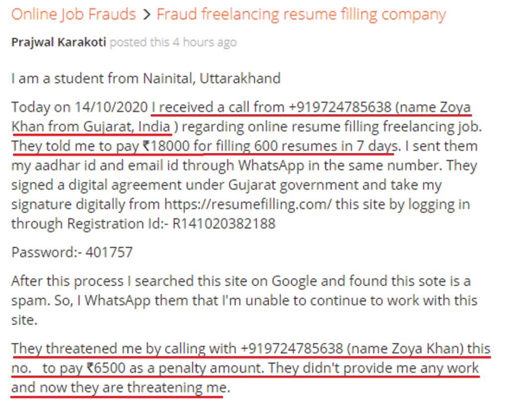 resumefilling fraud review 5