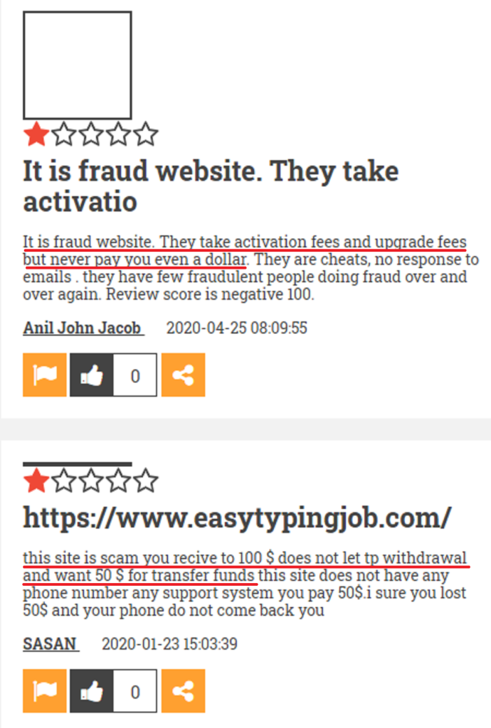 easy typing job scam review 5