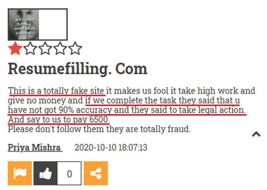resumefilling fraud review 9