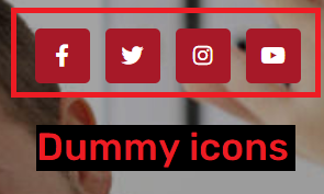 beamcolony scam fake social media icons