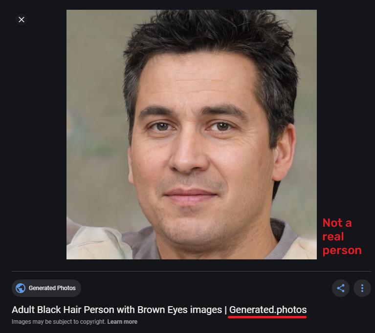 fake telegram profile pic