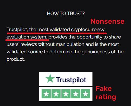 hash range scam fake trustpilot rating 1