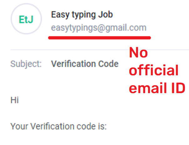 easytypingjob scam email ID
