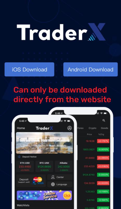 traderx scam app