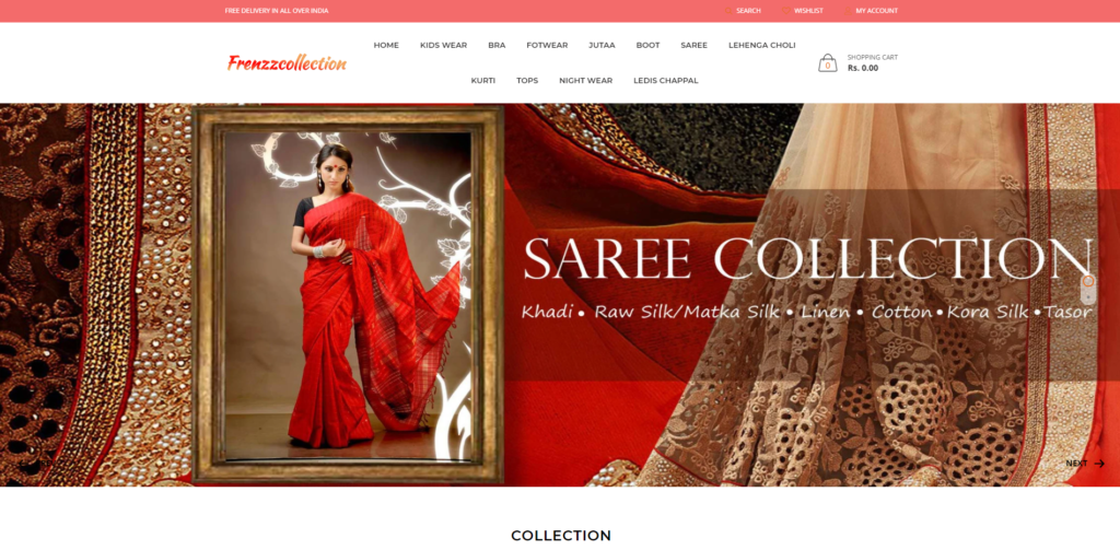 frenzzcollection soggycollection scam home page