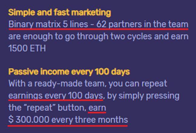 million money scam passive income 1