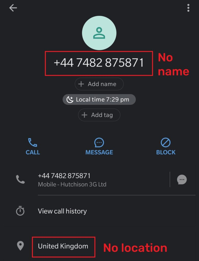 xehia trading ltd scam fake phone number