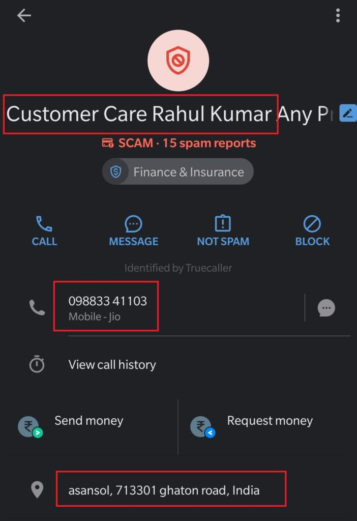 brittany pants fake customer care truecaller 2