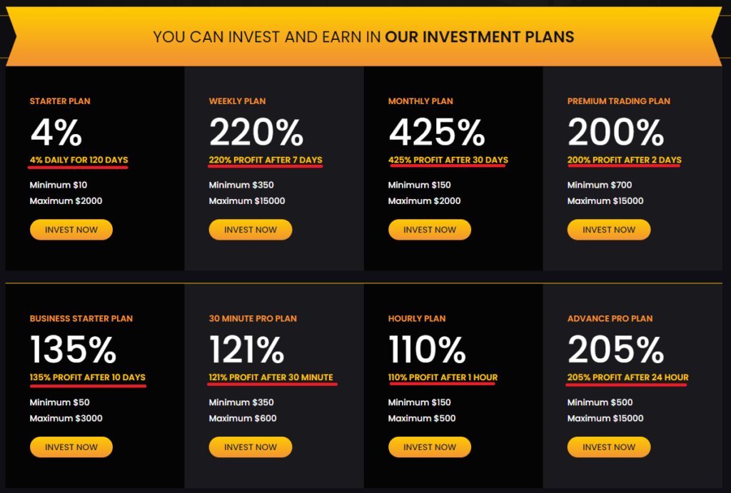iamlprofit scam investment plans