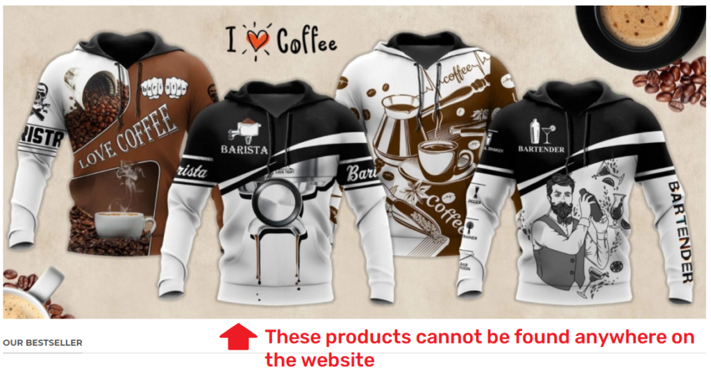 baceny scam coffee hoodies