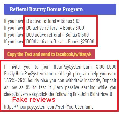 hourpaysystem scam referral 1