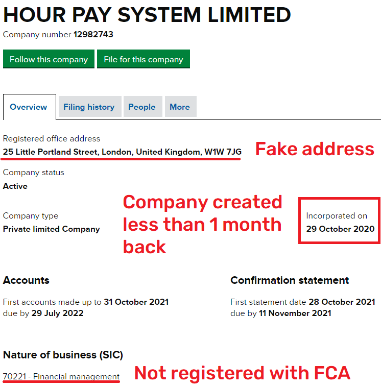 hour pay system scam uk shell registration 1