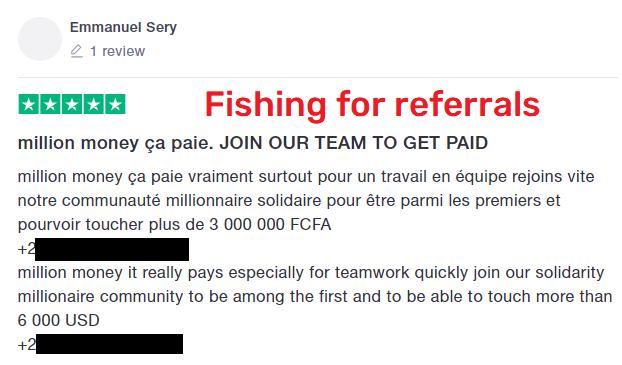 million money scam review