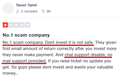 iamlprofit scam review 1