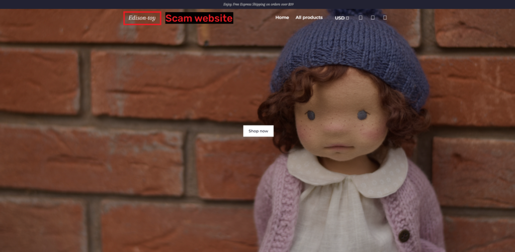 waldorf dolls scam copycat websitescam