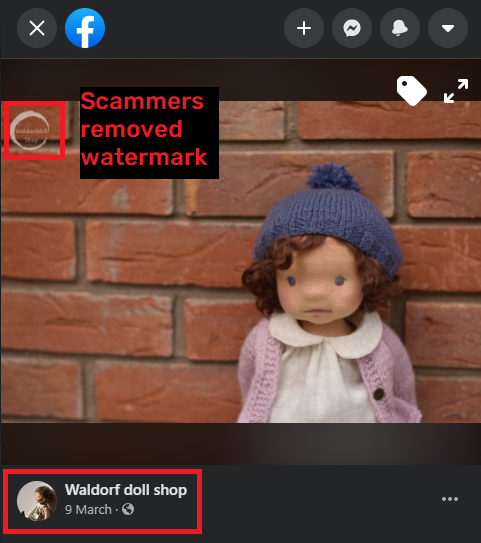 waldorf doll shop facebook watermark