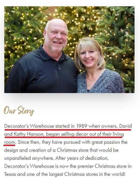 decrators warehouse about us