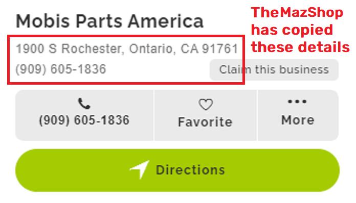 mobis parts america contact details