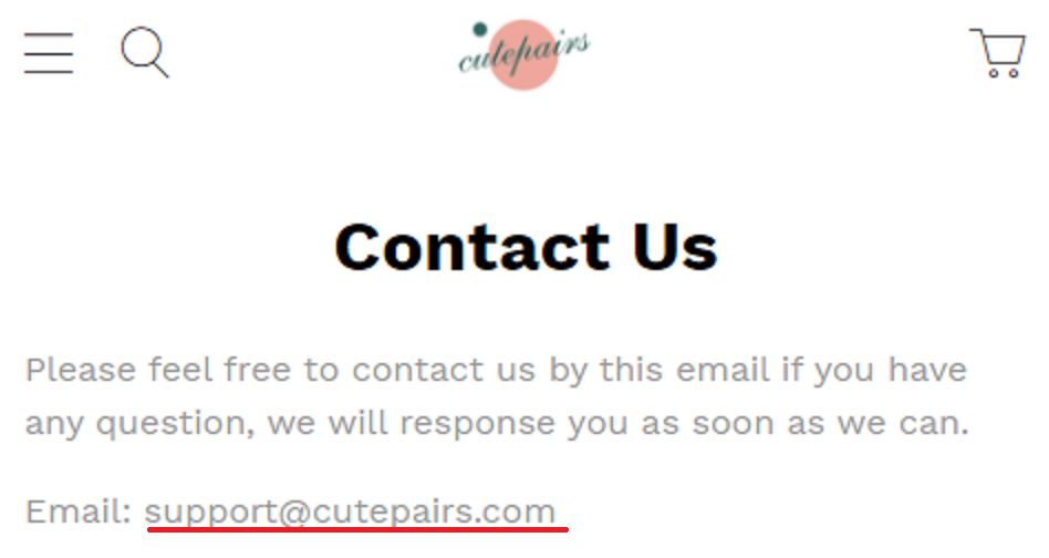 coolest gadgets scam network cutepairs email