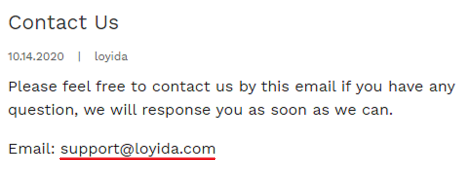 coolest gadgets scam network loyida email