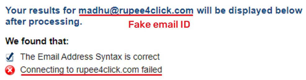 rupee4click scam fake email ID 1