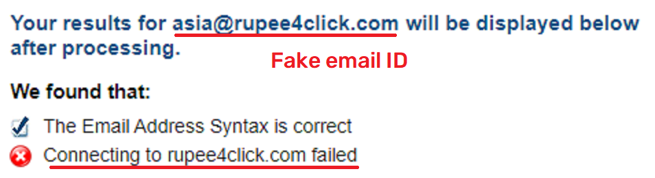 rupee4click scam fake email ID 2