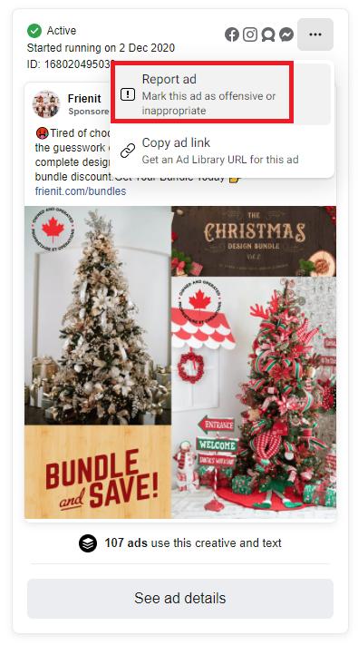 Frienit scam facebook ads