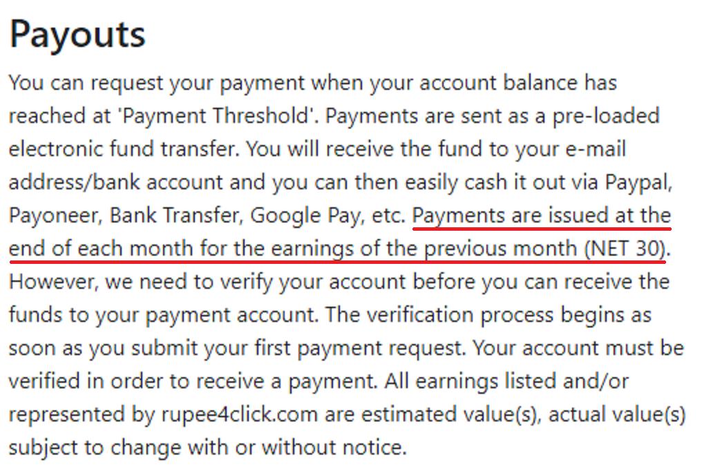 rupee4click scam net30