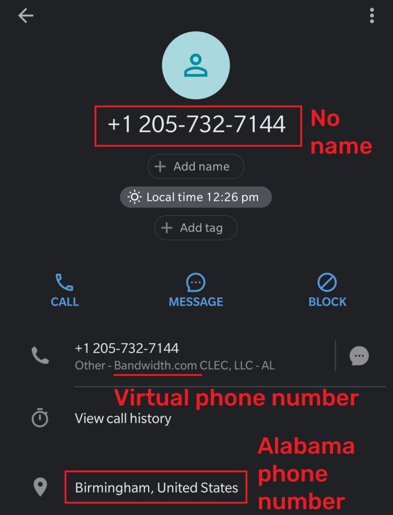 standardbitpool fake phone number