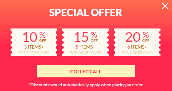 special offer scam banner