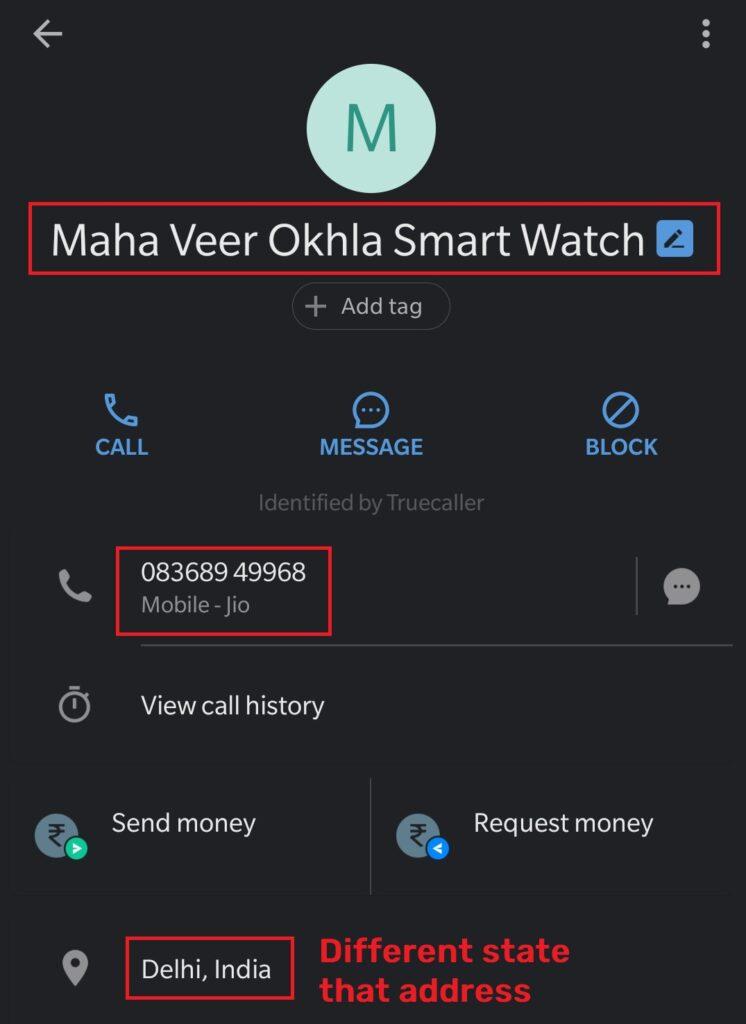 BestShirtDeal scam fake phone number
