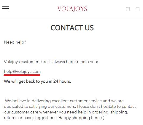 volajoys scam contact details