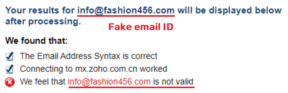 maddemall scam fashion 456 fake email 2