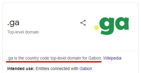 .ga gabon domain