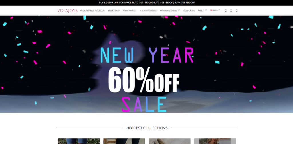 volajoys scam home page
