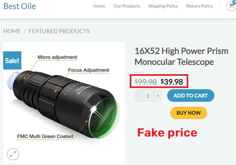 bestoile scam telescope
