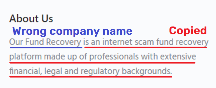 GetBackFunds scam copied content
