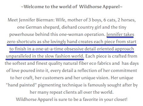 wildhorse apparel about us