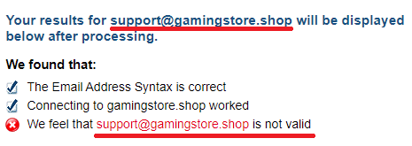 gamingstore scam fake email 2