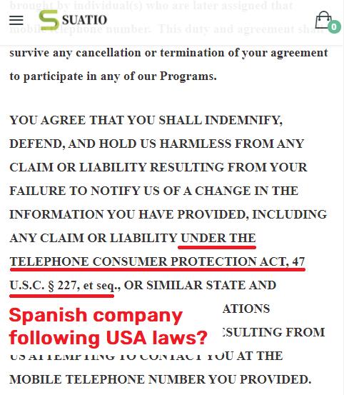 suatio scam usa laws