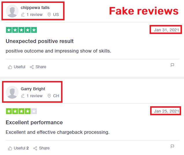 GetBackFunds scam fake reviews
