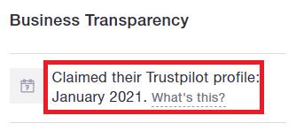 GetBackFunds scam claimed trustpilot page