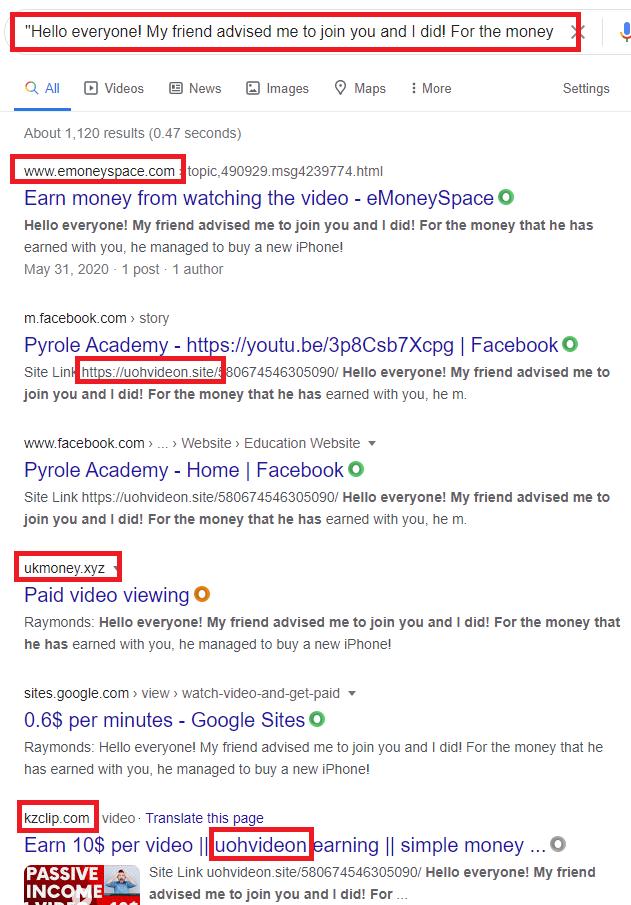 xopmoney scam fake review google 1