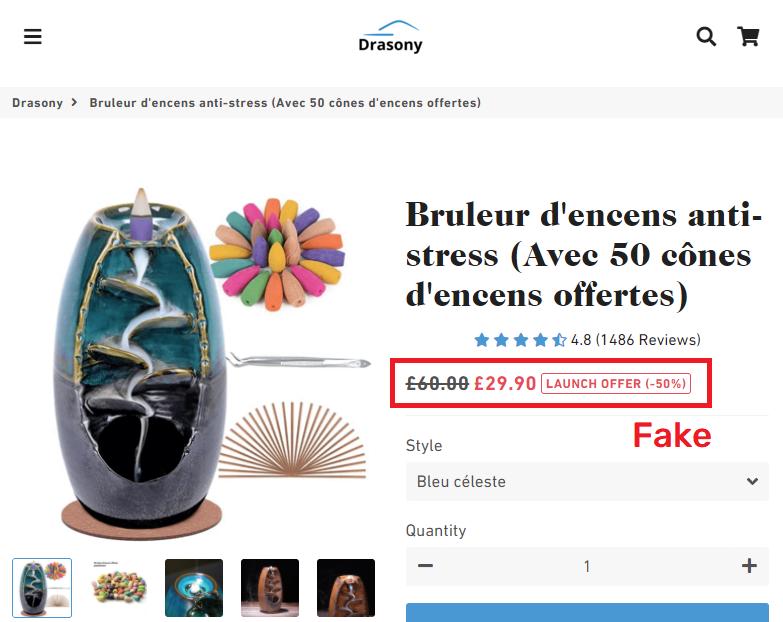 drasony scam incense burner fake price