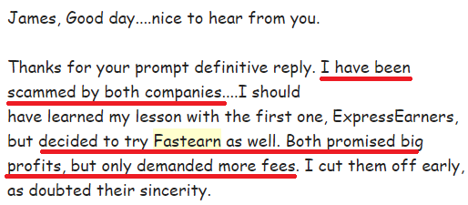 fastearn scam review
