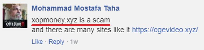 xopmoney scam review 3