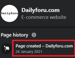 dailyforu scam facebook page 2