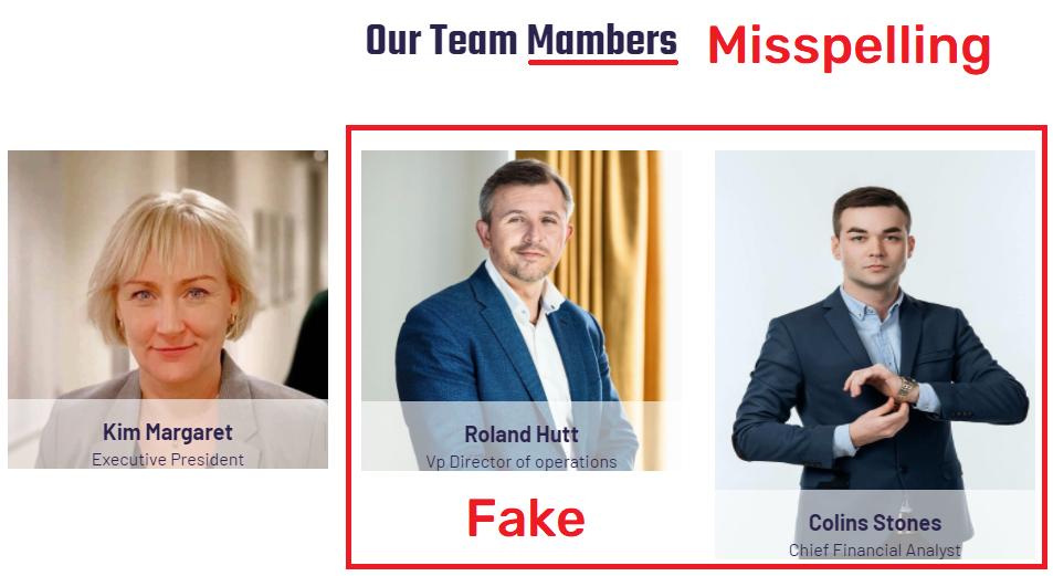activebonorum scam fake team members