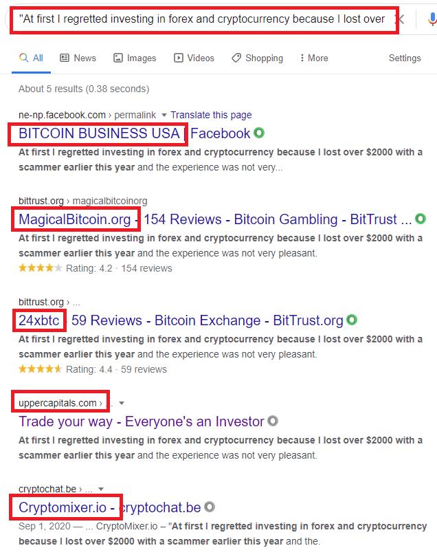OptimumFXZilla scam fake testimonial 3