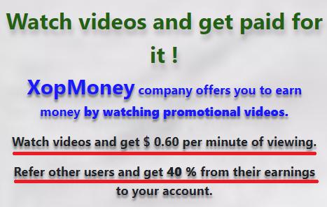 xopmoney scam pay per video view